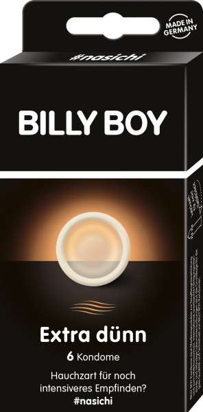 BILLY BOY Extra Dünn 6 St. SB-Pack.