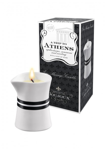 MASSAGE CANDLE ATHENS 120 GRAM