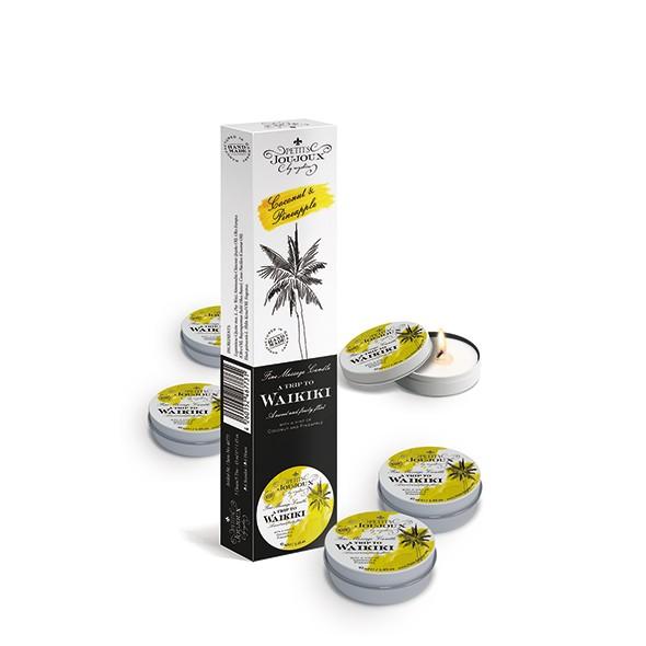 Petits Joujoux - Massage Candle Waikiki 33 gram Refill 5 pcs