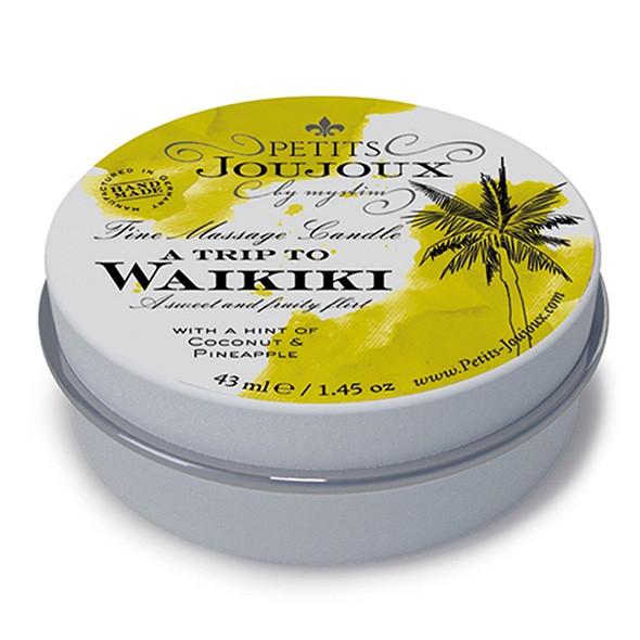 Petits Joujoux - Massage Candle Waikiki 33 gram