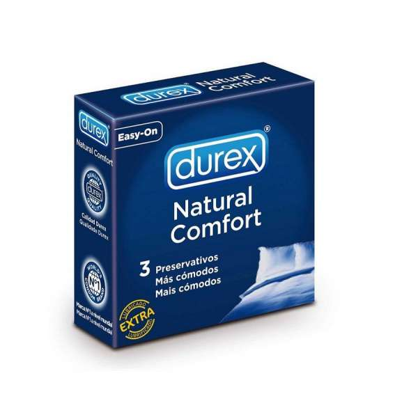 DUREX NATURAL COMFORT 3 UNITS